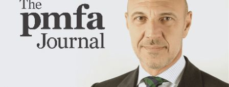 "PMFA Journal – Articolo ""In conversation with Dr Emanuele Bartoletti"""
